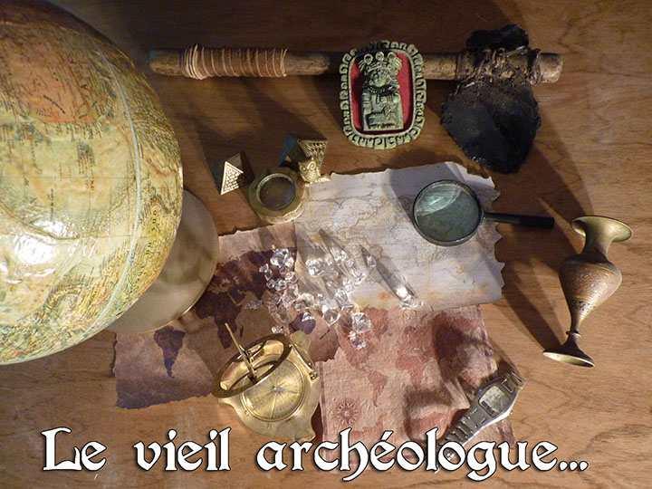 Le vieil archéologue
